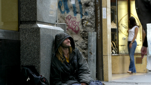 Article image for Greens calling to decriminalise begging on Melbourne's streets