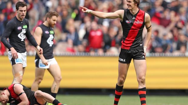 Article image for Matthew Richardson's fears for Joe Daniher's goalkicking