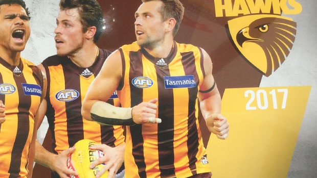 Article image for Sam Mitchell missing from Hawthorn 2017 calendar