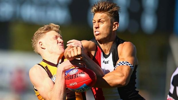 Article image for Hawthorn lands pick 10 in swap with St Kilda
