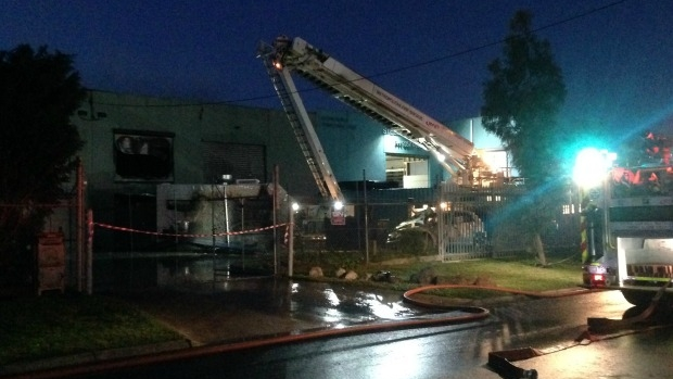 Article image for Police investigating second fire at Campbellfield factory in a week