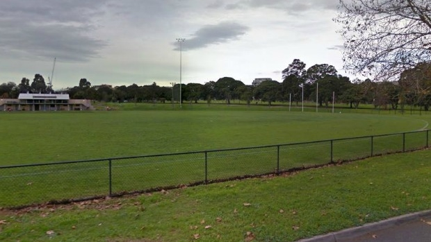 Article image for Eight feet too long: The extra long wicket for cricketers at Albert Park