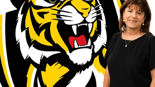 Article image for Caroline Wilson says Richmond has a 'big problem' when it comes to leadership