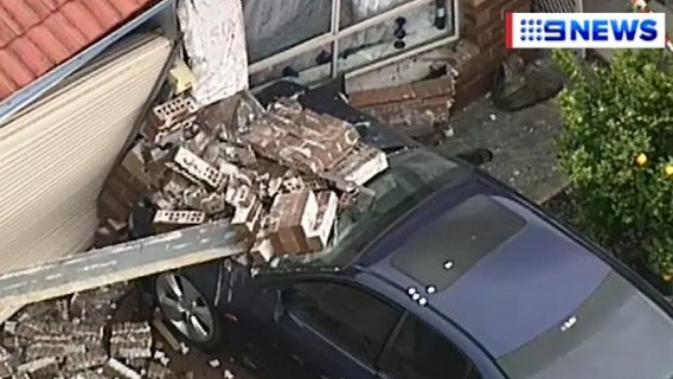 Article image for Car slams into house at Cranbourne West