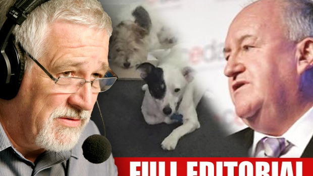 Article image for Neil Mitchell calls for audit, says Steve Herbert should sacked over 'dog chauffeur' affair