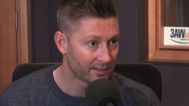 Article image for Michael Clarke joins Neil Mitchell in studio, says he'd love to patch things up with Andrew Symonds