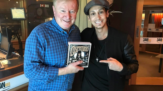 Article image for Grand Illusionist Consentino has written a new book 'Anything is Possible'