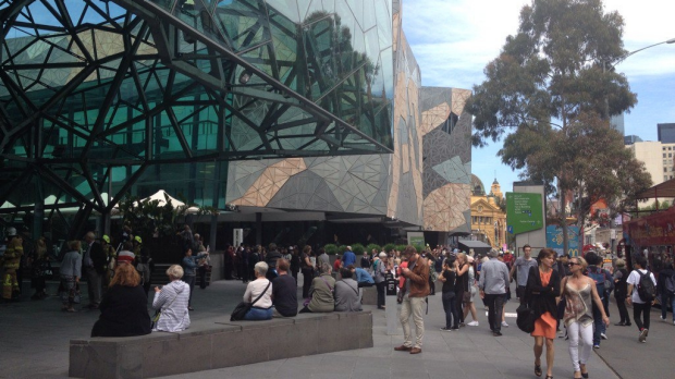 Article image for Federation Square evacuated