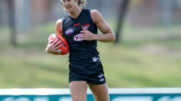 Article image for Lloyd backs 'total package' Dyson Heppell as Essendon's next captain