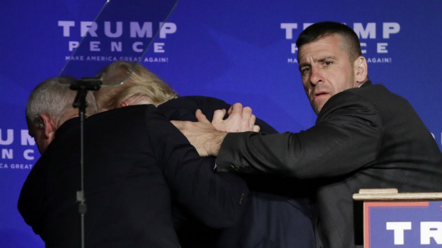 Article image for US protester Austyn Crites evicted from Trump rally speaks with Neil Mitchell