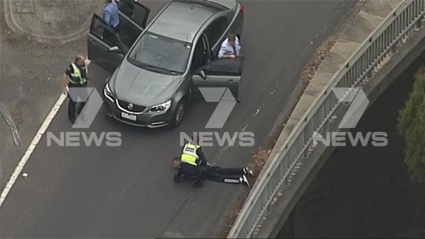 Article image for Man arrested after pursuit of allegedly stolen car