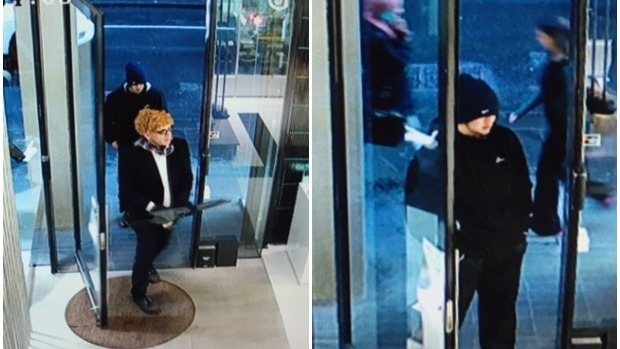 Article image for Police hunt for watch thieves who stole $50,000 worth of jewellery from CBD store