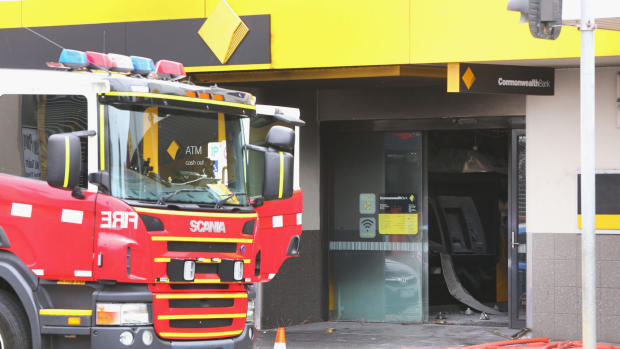 Article image for Man charged following Springvale bank fire that left dozens injured