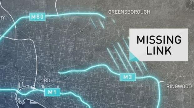 Article image for Andrews government announces plans to build the missing North East Link