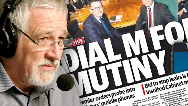 Article image for Neil Mitchell labels the Premier 'childish' over Ministers' mobile phone audits