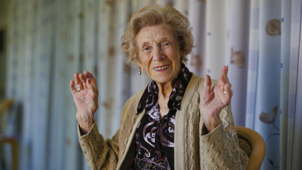Article image for Advice from Aileene Gillard on her 101st birthday