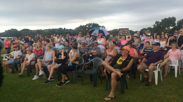 Article image for Anglesea residents rally to save caravan park