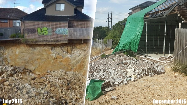 Article image for RUMOUR FILE: Homes collapsing at troubled Mount Waverley construction site