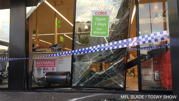 Article image for Police investigate supermarket ram raid at Patterson Lakes