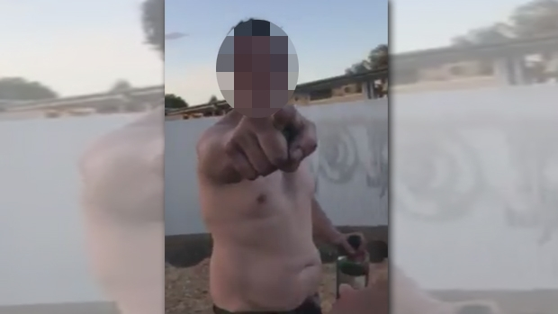 Article image for Video emerges of drunk man's racist attack on a family at Coburg