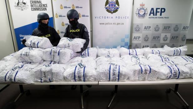Article image for Police seize staggering 300 kilograms of pure pseudoephedrine