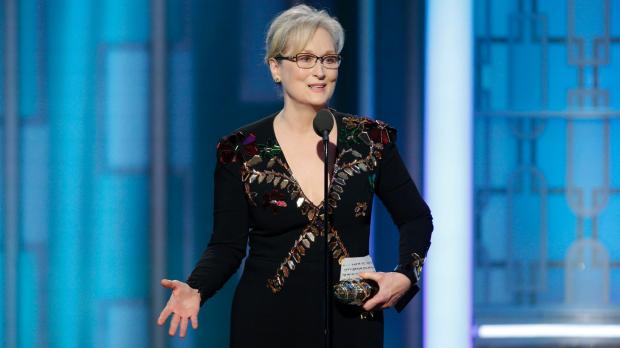 Article image for Rita Panahi slams Meryl Streep's anti-Trump Golden Globes speech