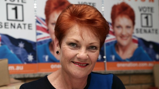 Article image for Pauline Hanson 'gifted' tickets to Donald Trump's presidential inauguration ceremony