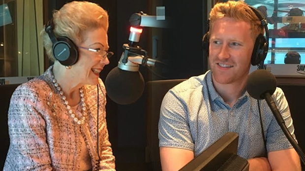 Article image for MONDAY CATCH-UP: Susan Alberti AC and Young Victorian of the Year Jason Ball