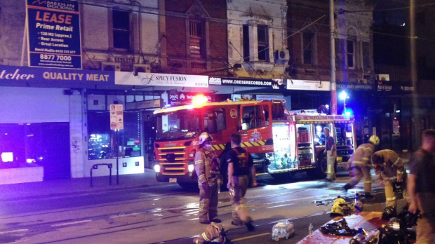 Article image for Man rescued from suspicious apartment blaze at Prahan