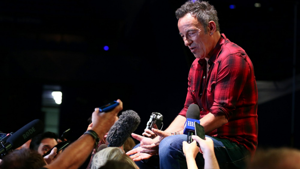 Article image for Bruce Springsteen hits out at US President Donald Trump at Melbourne concert