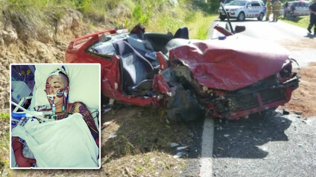 Article image for Lani Brereton's incredible compassion for the drunk driver responsible for horror crash