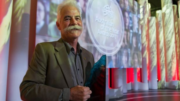 Article image for Alan Mackay-Sim named Australian Of The Year