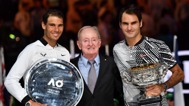 Article image for Gerard Healy says Federer v Nadal final was one of Melbourne's greatest nights