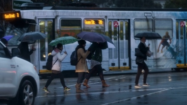 Article image for Homes damaged, roads flooded, as wild weather hits Melbourne