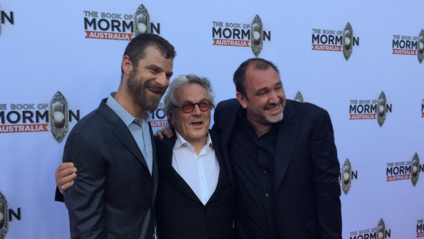 Article image for The Book of Mormon red carpet