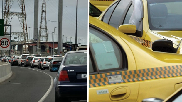 Article image for RUMOUR CONFIRMED: Victorian taxi drivers to block Bolte Bridge in protest on Monday