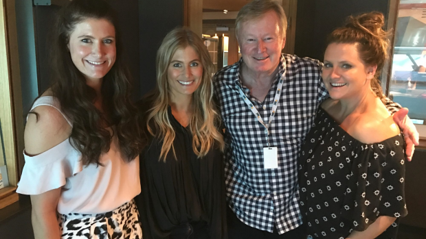 Article image for The McClymonts in studio with Denis Walter ahead of their Australian tour
