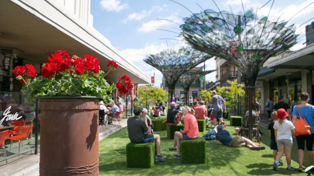 Article image for Your Town: 3AW Drive visits the Yarraville Pop-up Park