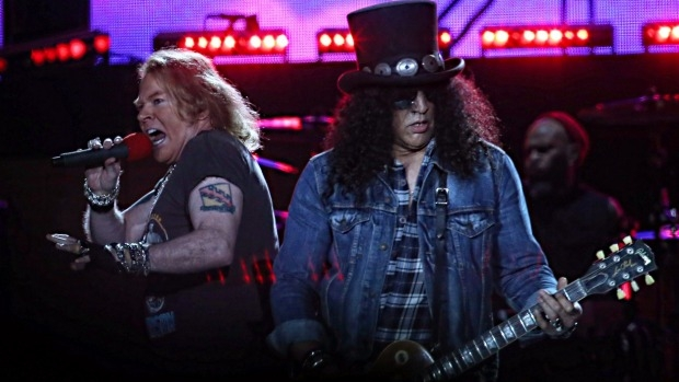 Article image for Reports Axl Rose asked for police escort to MCG concert, which was denied