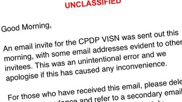 Article image for RUMOUR CONFIRMED: Privacy commissioner apologises for accidentally releasing email addresses