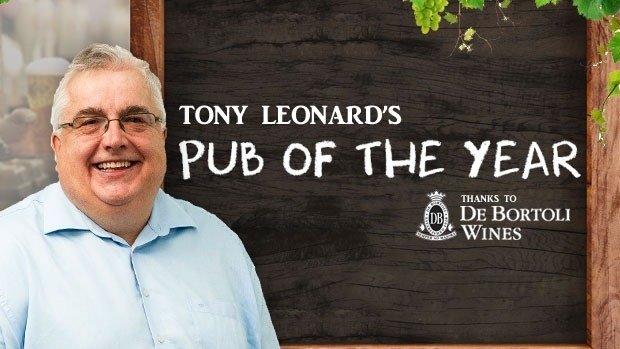 Article image for Tony Leonard presents 3AW's Pub Of The Week for De Bortoli wines in 2017