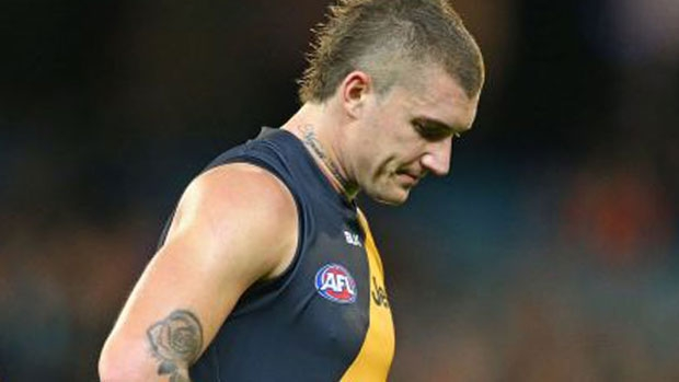 Article image for Dustin Martin begs Australian government to allow his dad back to Australia