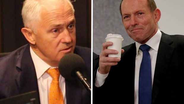 Article image for Malcolm Turnbull says he's not going to be 'provoked' by criticism from Tony Abbott