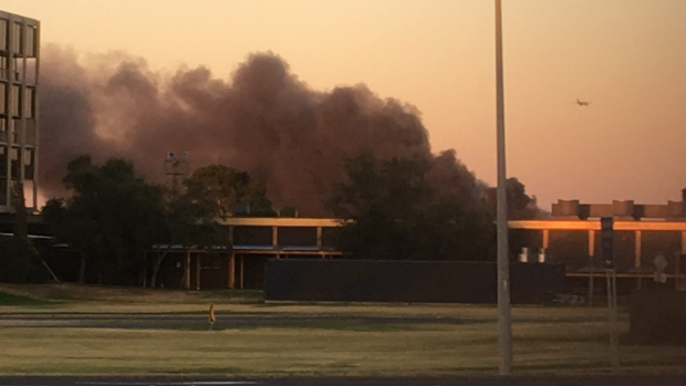 Article image for Massive factory fire at SKM recycling, Coolaroo