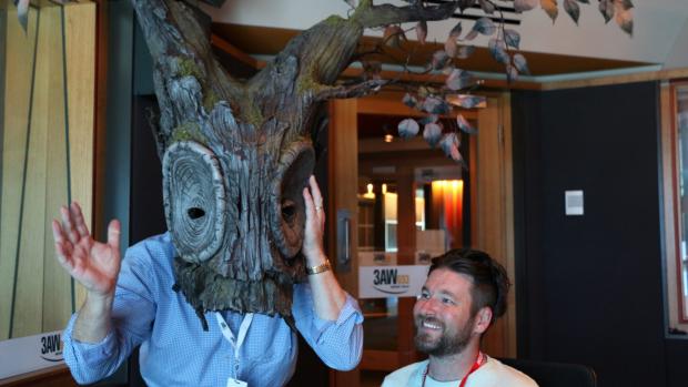 Article image for Denis Walter meets puppet designer Joe Blanck