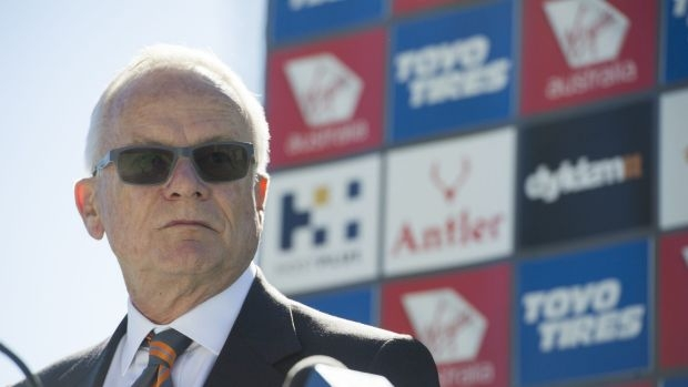 Article image for GWS Chairman Tony Shepherd refutes claims Wayne Campbell was installed at the Giants by the AFL