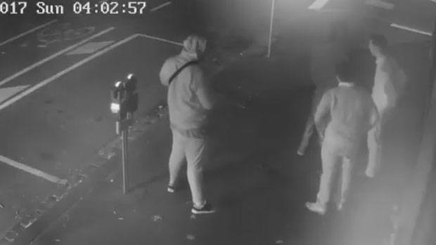 Article image for CCTV released following armed hold-up on William Street