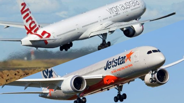 Article image for Jetstar and Virgin Airlines cop large fines over alleged 'drip pricing'