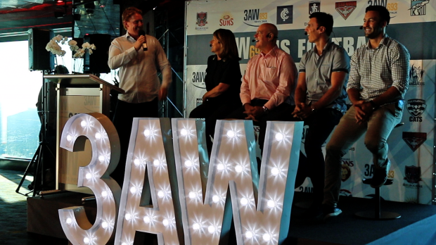 Article image for 3AW Football launch for season 2017