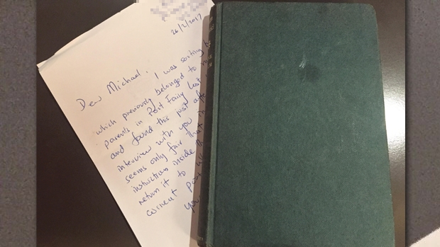 Article image for Long-lost book returned to Dr Michael Carr-Gregg after more than 40 years